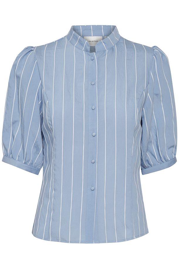 181c3b4d Blue/white stripes TuanGZ bluse – Køb Blue/white stripes TuanGZ bluse fra  str. 34-42 her