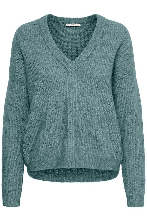 c7a1447e2 Oil Blue melange DebbieGZ knitted pullover fra Gestuz – Køb Oil Blue  melange DebbieGZ knitted pullover fra ...