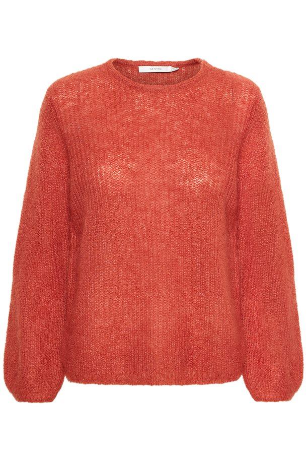2994949b Rooibos Tea HollyGZ knitted pullover fra Gestuz – Køb Rooibos Tea HollyGZ  knitted pullover fra str.