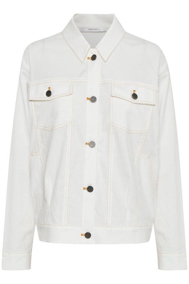4e0593cf Washed white TovaGZ jakke – Køb Washed white TovaGZ jakke fra str. XS/S-M/L  her