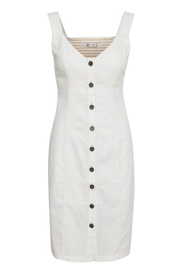 fc5b4c26 Washed white TovaGZ kjole – Køb Washed white TovaGZ kjole fra str. 34-42 her